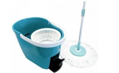 Mop rotativ cu microfibre