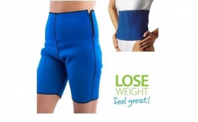 Pantaloni + centura din neopren