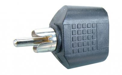 Adaptor RCA tata - 2 x jack mama 3,5 mm