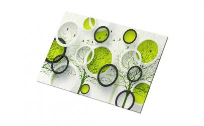 Tablou Canvas Green Trees 95 x 65 cm