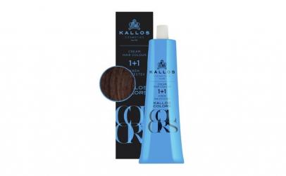 Vopsea de păr cremă Kallos Colors 5R
