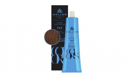 Vopsea de păr cremă Kallos Colors 6D