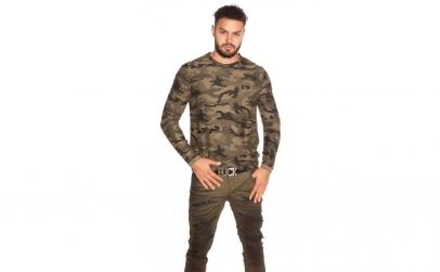 Bluza barbati, model Army