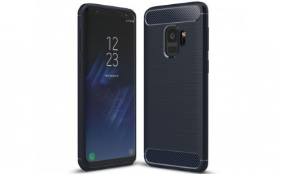 Husa Air Carbon Samsung Galaxy S9  Dark