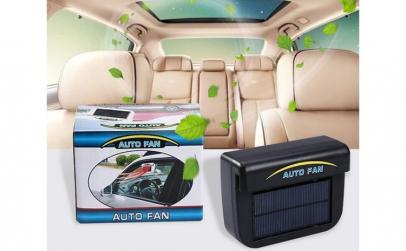Ventilator auto cu incarcare energie