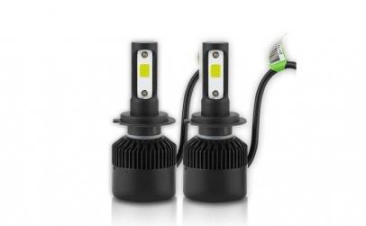 Set 2 LED-uri Auto H7 72w/8000 Lumeni