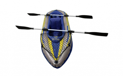 Barca Canoe Challenger 2 Intex 68306 cu