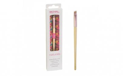 Pensula unghiulara din bambus pentru