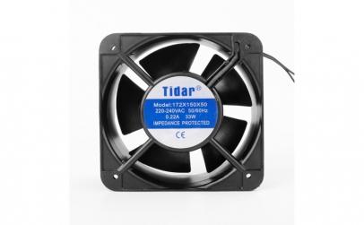 Cooler Ventilator 220V 172x150x50mm