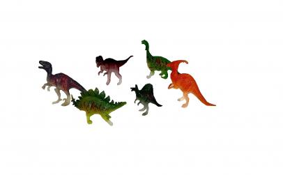 Set 6 dinozauri in cutie