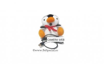 Camera web USB pinguin