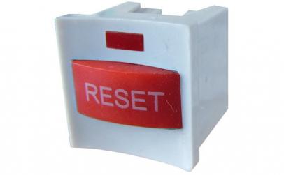 Buton reset, cu led, fara retinere,