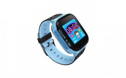 Ceas smartwatch pentru copii, albastru,