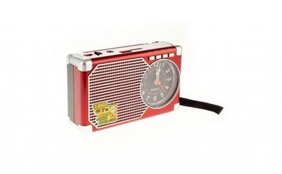 Radio Portabil cu USB, SD/TF Card, AUX,