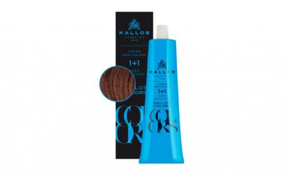 Vopsea de păr cremă Kallos Colors 6R