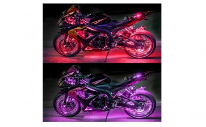 Kit 12 benzi cu Led-uri pt motocicleta