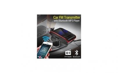 Modulator FM cu MP3 si incarcator dublu