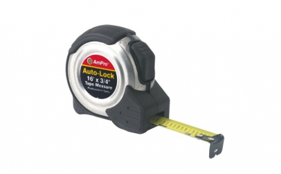 Ruleta 3m x 16mm AmPro, cu buton de