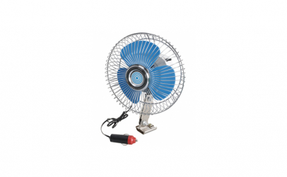 Ventilator oscilant cu clips