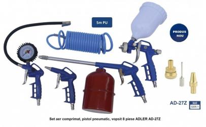Set aer comprimat, pistol pneumatic,