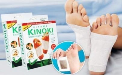 Set 30 plasturi Kinoki detoxifiere