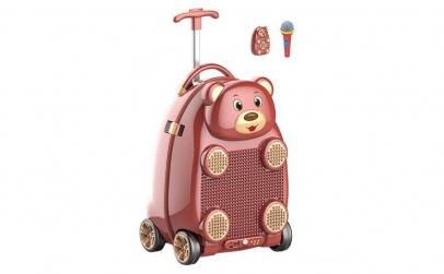 Troler muzical pentru copii Happy Bear