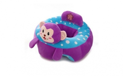 Fotoliu pentru bebe Maimutica mov
