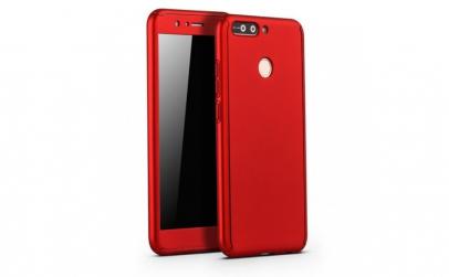 Husa Huawei P10 Plus Full Cover 360 Rosu