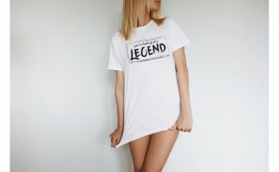 Tricou Femei Legend, Bumbac 100%,