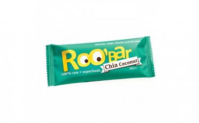 Baton Roobar chia + cocos raw bio 30g