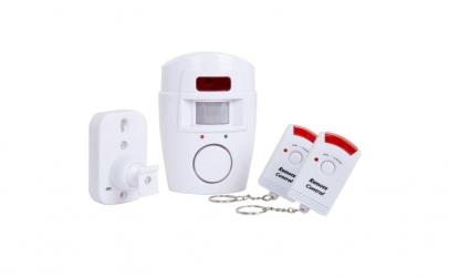 Alarma Wireless cu senzor, 2 telecomenzi