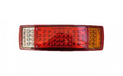 Stop camion LED 15 x 09 pe 24V partea