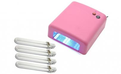 Lampa UV 36W pentru unghii perfecte