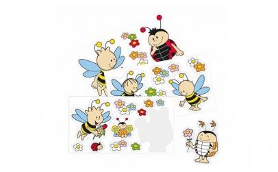 Abtibilduri perete Stupul albinelor -