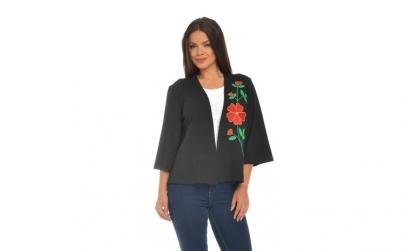 Bluza Dama Neagra tip Kimono cu