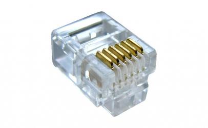 Conector RJ12, 6P/4C - 129009
