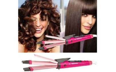 Hair Beauty Set 2 in 1 Placa + Ondulator