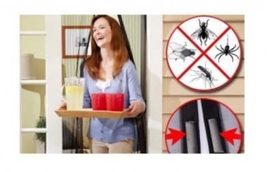 Perdea anti insecte