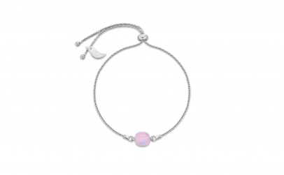 Bratara Square Mini Rosewater Opal