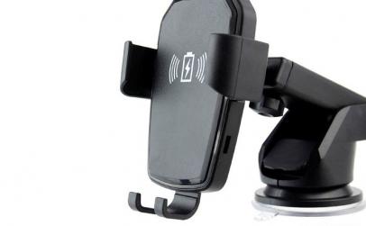Suport telefon cu incarcare wireless