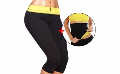 Pantaloni de slabit + Centura de slabit
