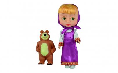 Papusa Masha cu Ursulet