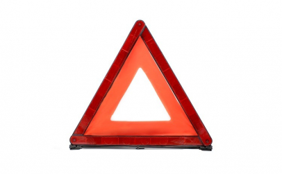 Triunghi reflectorizant - 43 x 43 x 43