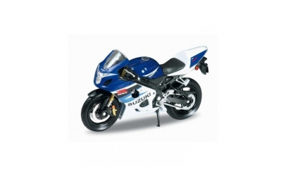 Motocicleta de jucarie in miniatura