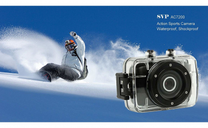 Camera video sport subacvatica HD