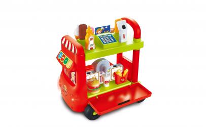 Caravana Fast Food, supermarket