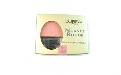 Fard de obraz L'Oreal Nuance Rouge