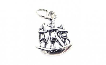 Pandantiv Argint 925, Model Barca
