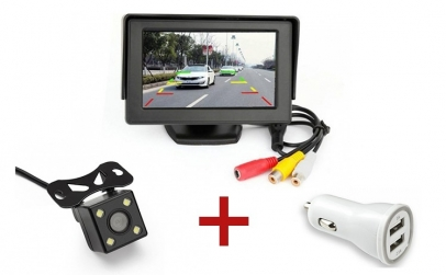 Set video marsarier+Incarcator USB Dublu