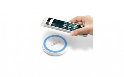 Incarcator wireless Alb-Albastru